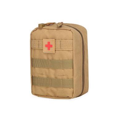 CYSHMILY tácticos al aire libre de deportes bolso médico camuflaje kit de primeros Nylon impermeable bolso de la cintura