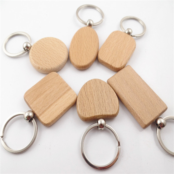 Graduation features small gift customization Wooden key chain