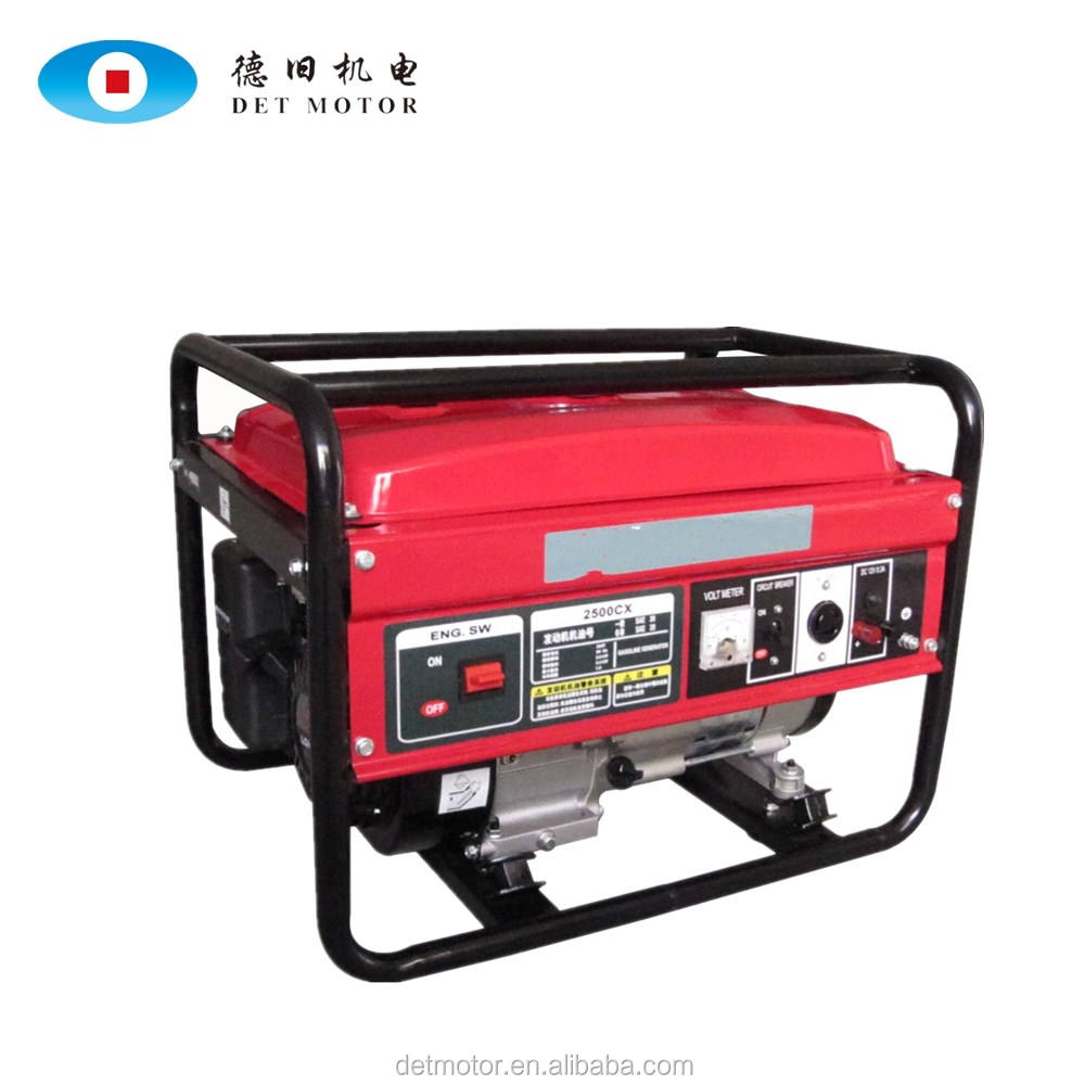 6KW Backup Electrical Portable Camping Gasoline Generators For Wholesale Made in China