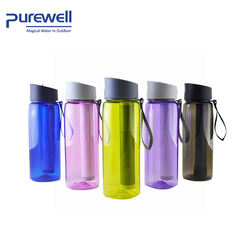 Purewell Sport Water Purifier Bottle Portable Water Bottle with Filter for Hiking Camping Traveling