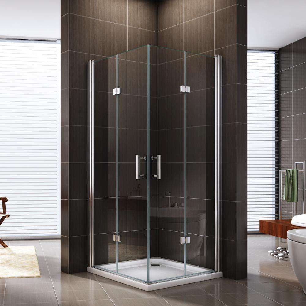 Square folding hinge shower enclosure/cabin/door EX-213L