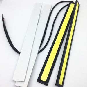 17cm COB LED DRL Driving Daytime Running Lights Strip 12V Auto Waterproof Car Working Light Car Styling Led Lamp