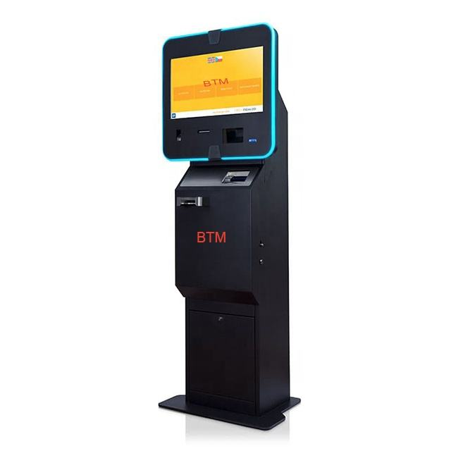 payment kiosk Touch screen Buy and sell 2 way with software Digital Cryptocurrency Bitcoin ATM