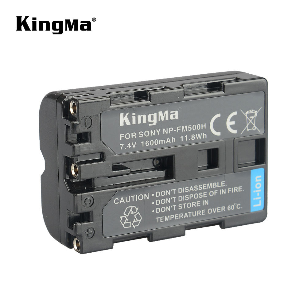 KingMa Volledige Decoded Oplaadbare Lithium-ion Batterij <span class=keywords><strong>NP</strong></span>-<span class=keywords><strong>FM500H</strong></span> Voor Sony A65 A77 A200 A300 Camera