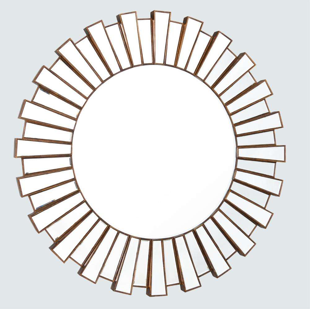 round mirror frame bevelled mirror decorative wall mirror sets - GJ813
