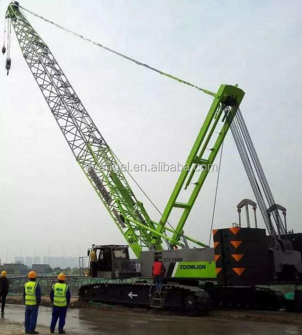 55 Ton Crawler Crane Price Zoomlion Small Crawler Cranes ZCC550 For Sale