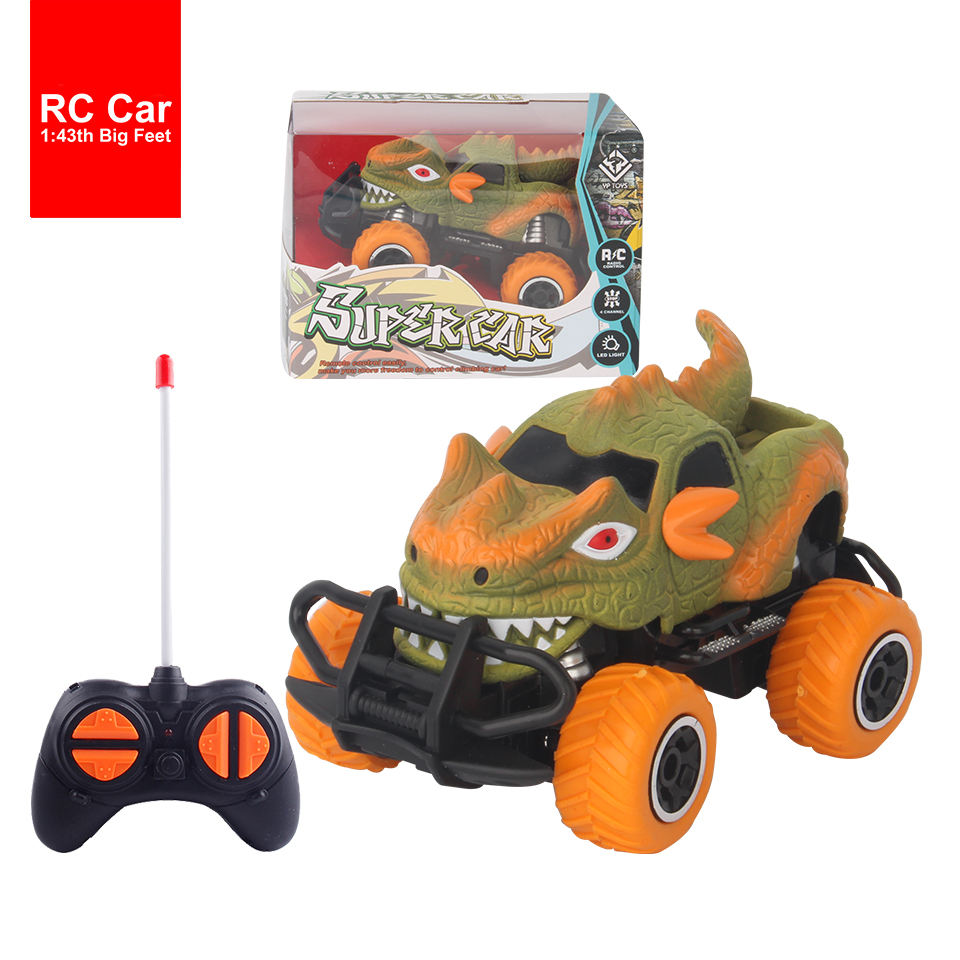 드래곤은 장난감 cars remote control monster truck RC 공룡 차 toys