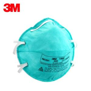 Microbial 3m 1860 Laboratory Particle Medical Masks Respiratory Surgical Filter