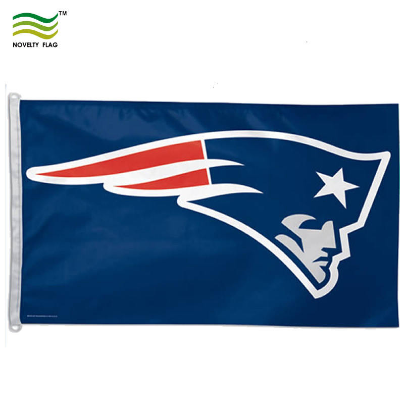 3 * 5ft Polyester NFL New England Patriots Vlag