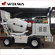 Mobile Concrete Mixer Mobile Concrete Mixer With Self Loading From China With 1.2 Cbm Drum Capacity
