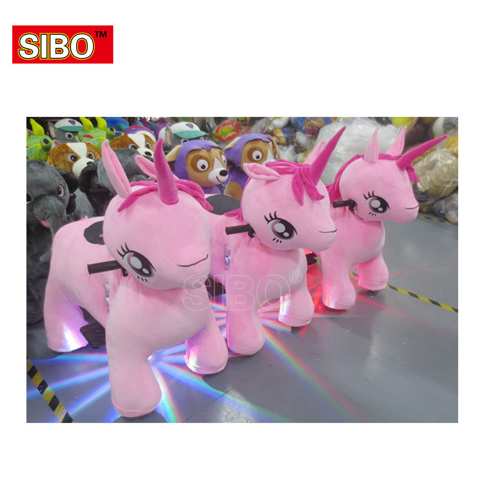 coin operated walking stuffed animal ride electric mountable animals coin mall