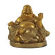Wholesale funny handmade laughing golden buddha