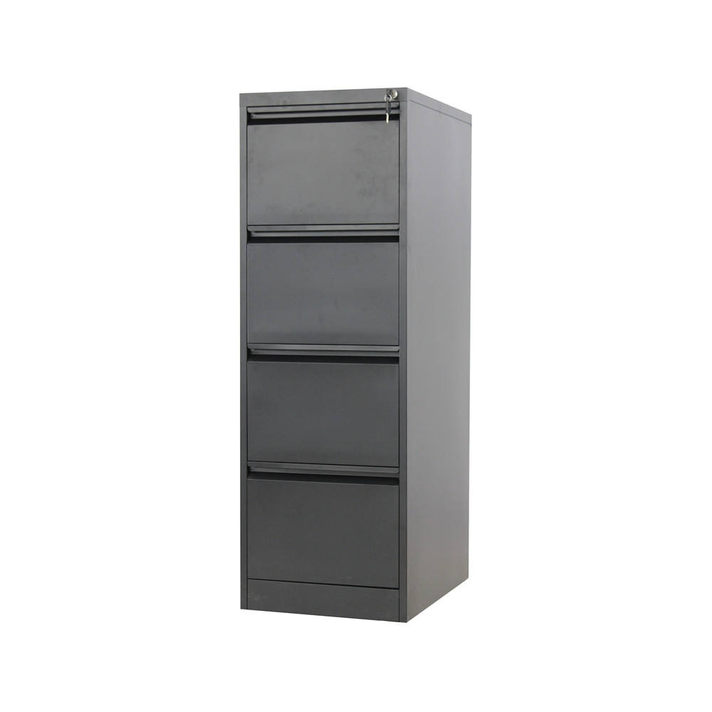 4-drawer later file cabinet/metal iron storage drawer cabinet