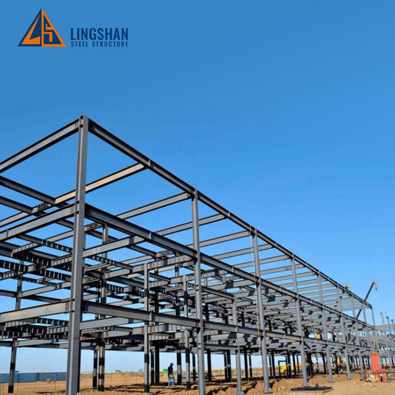 Sipariş yapmak çelik yapı malzemeleri için kullanılan yapısal çelik depo tasarımı