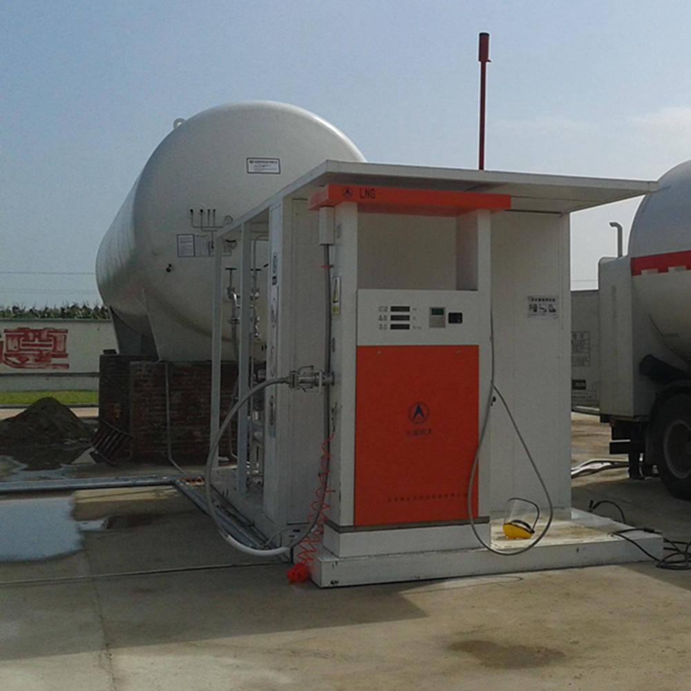 60CBM LNG tanque <span class=keywords><strong>de</strong></span> armazenamento <span class=keywords><strong>de</strong></span> GNL/L-CNG estação <span class=keywords><strong>de</strong></span> enchimento