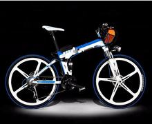 freeshipping directly hidden battery magnesium alloy wheel electric bike electric  battery mountain bike