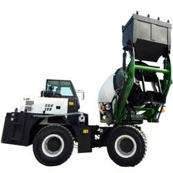 1.2 cbm small mini self loading Concrete Mixer Truck price