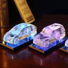 Optical Small Glass Crystal Car Model For Crystal Car Model Display