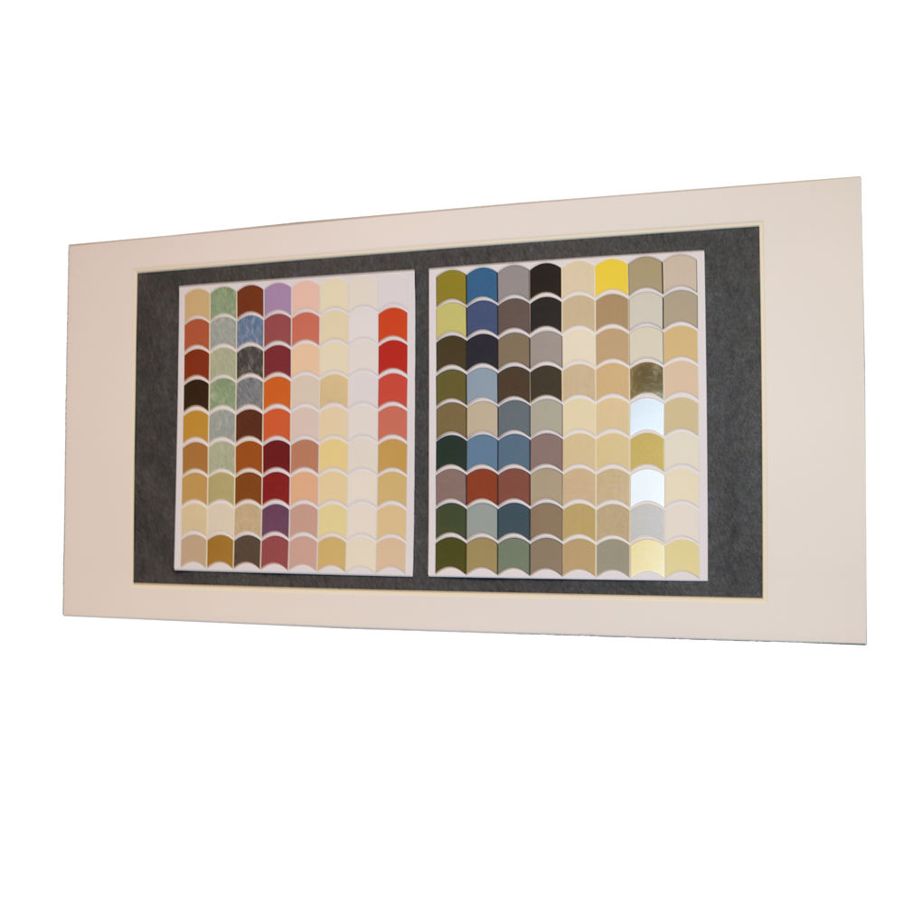 colorful high grade photo frame matboard in frame and glass frame matboard