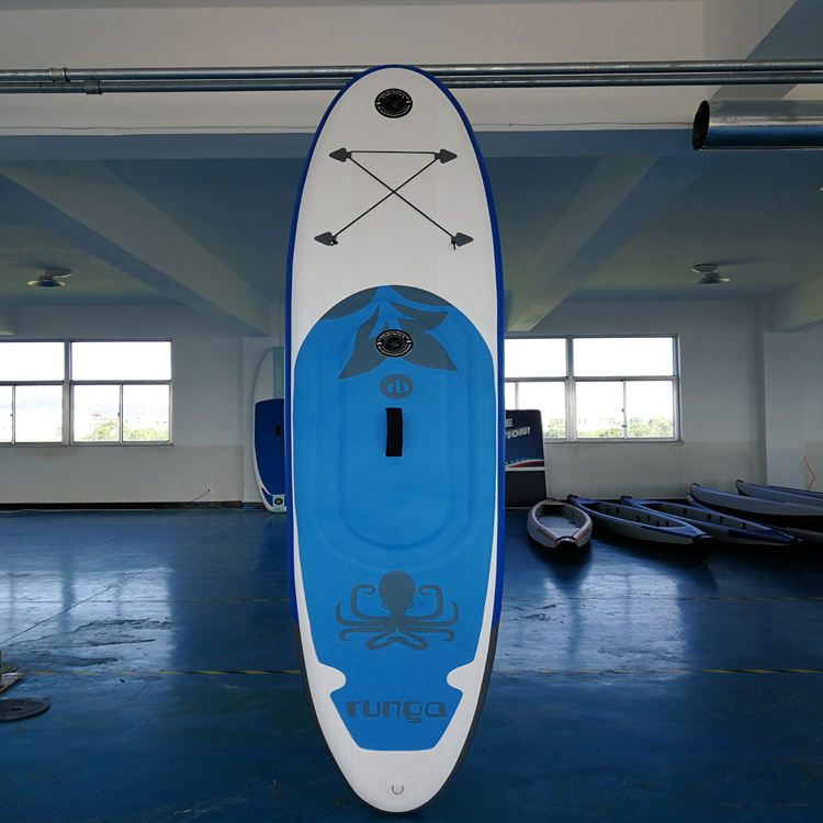 Doppia camera paddleboard gonfiabile stand up paddle sup