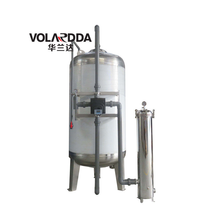 stainless steel sand filter/multimedia filter/pressure filter tank
