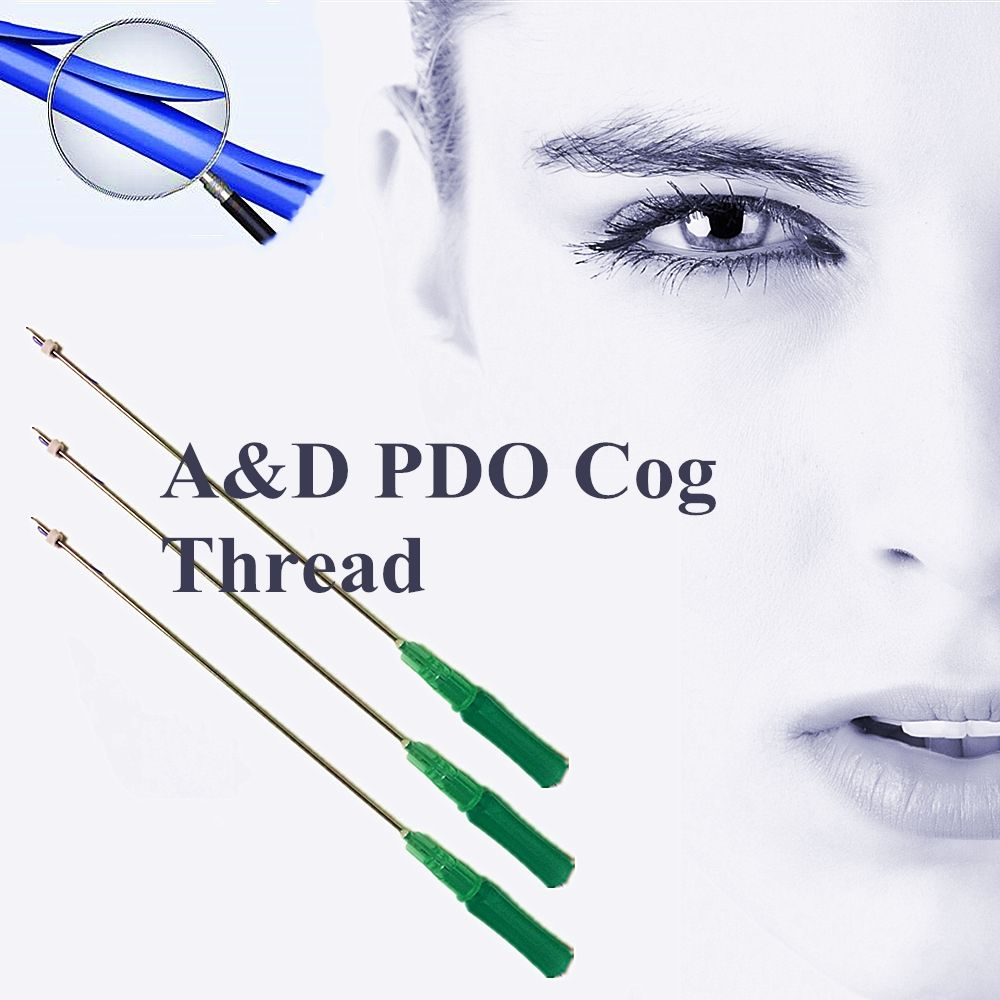 Cog 4d 19G100MM Pdo Thread Lift Face Cog With Blunt Cannula Needle