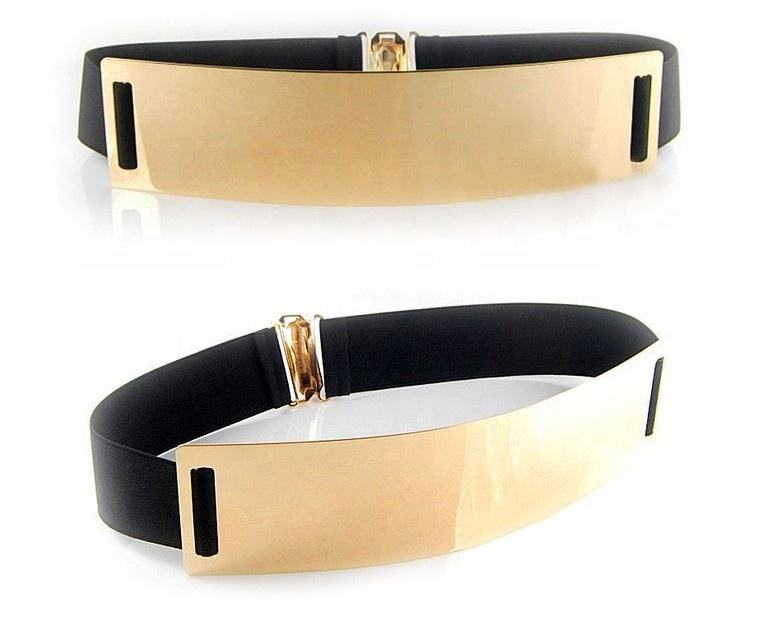Popular Metal Belt Waist Belt Skinny Metal Female Belt