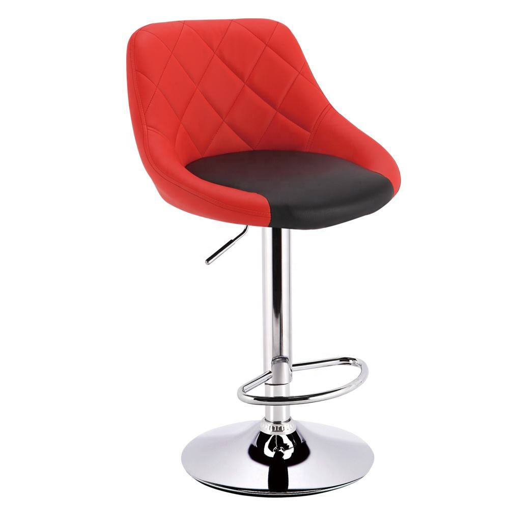 free sample commercial furniture multi color cheap metal red velvet kitchen bar chairs bar stools