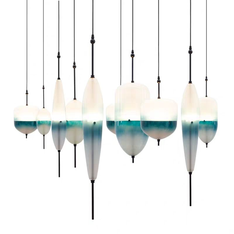 High-quality Modern Home Exquisite Chandelier Interior Decorative Glass Pendant Light