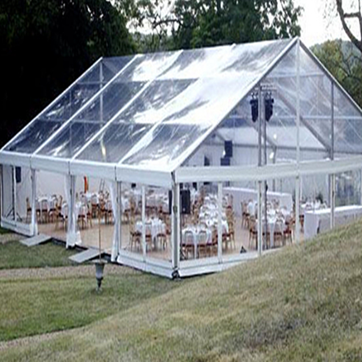 Wholesale clear roof canopy marquee tent for garden party