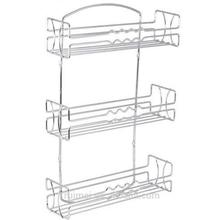Three-Layer Wall Mounted Seasoning Cup Holder Commercial Kitchen Rack