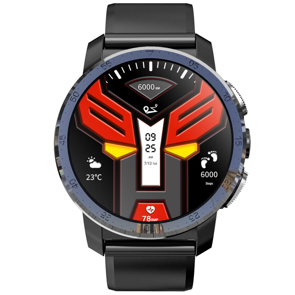 kospet Optimus pro Dual Systems 4G Smart Watch Android phone 3GB+32GB 800Mah Battery 8MP Camera GPS waterproof Smartwatch