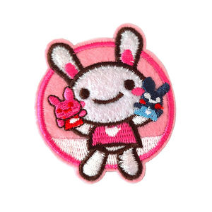 Embroidered Patches Cheap Badges Applique Embroidery Garment Patch Bulk Iron 3D Handmade Eco-friendly