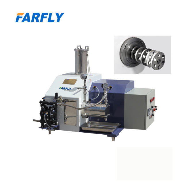 China FARFLY FWE-L horizontal bead mill paint mixing machine pigment equipment CE/ISO grinding