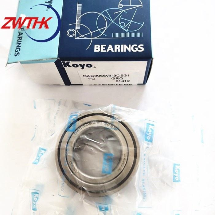 koyo car bearing dac3055w cs31 wheel hub bearing koyo dac3055w-3cs31