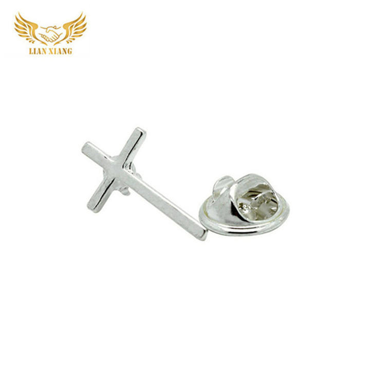 Nieuwe Uitvinding Product Metalen Goud Christian Pin Cross Pins