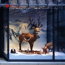 Custom Shop window decoration visual merchandising display