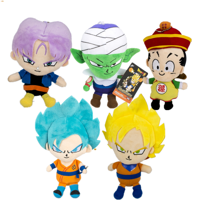 Japan Anime Dragon ball Z knuffel Son Goku super saiyan Vegetto gevulde pluche pop cadeau voor kinderen