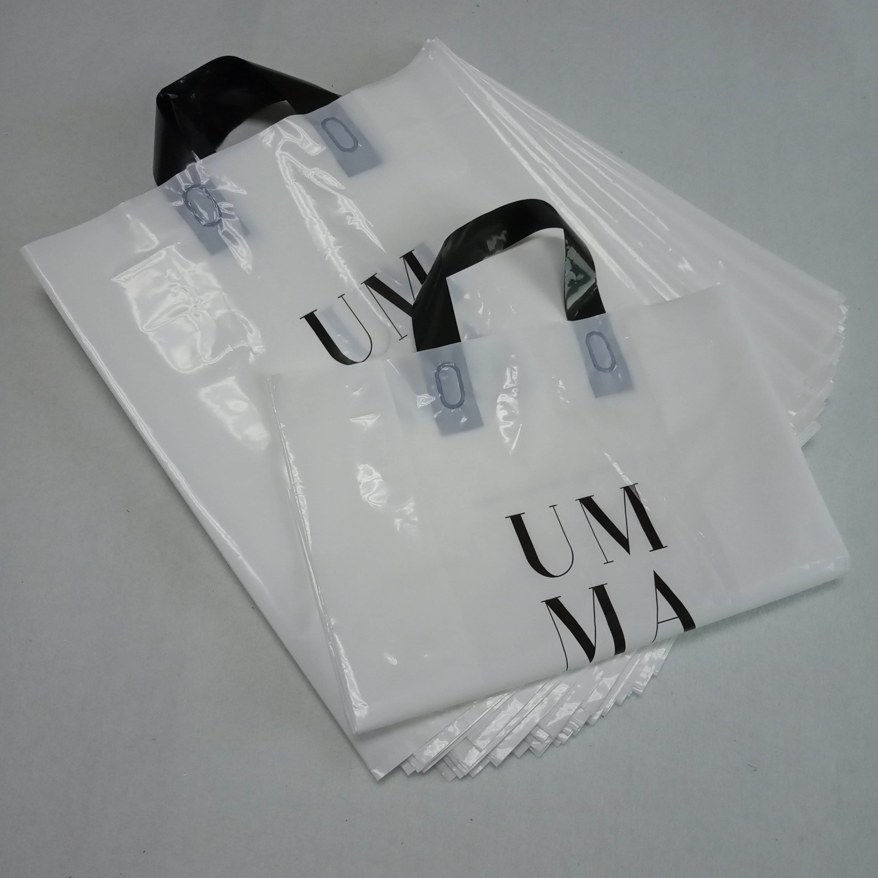 hot sale china custom printed sealed plastic bags with own logo luxury plastic shopping bag for swimwear
