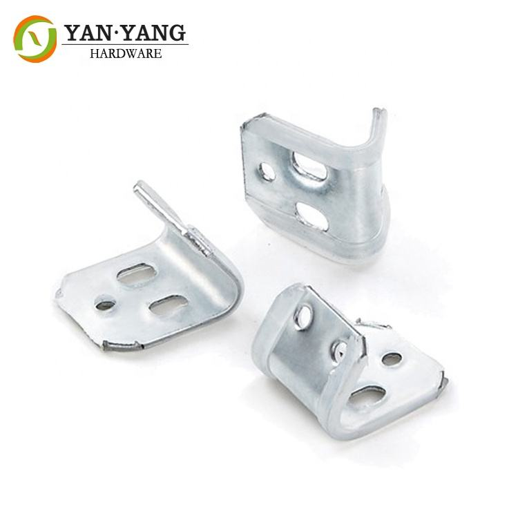 best quality sofa spring clamp durable five holes metal spring clip for sofa/furniture