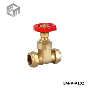 low cost 12mm-22mm Brass gate valves