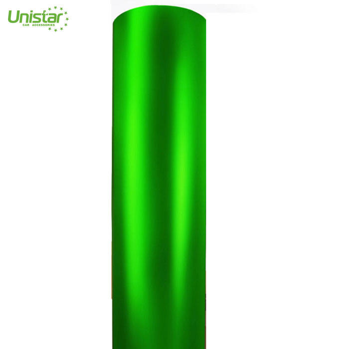 Car Exterior PVC Material Self Adhesive Vinyl Green Vinyl Wrap with Air Bubble Free