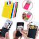 2020 Trending Phone Holder Back Sticker Wallet Card Mobile Phone Accessories Custom Logo Silicone Phone Holder