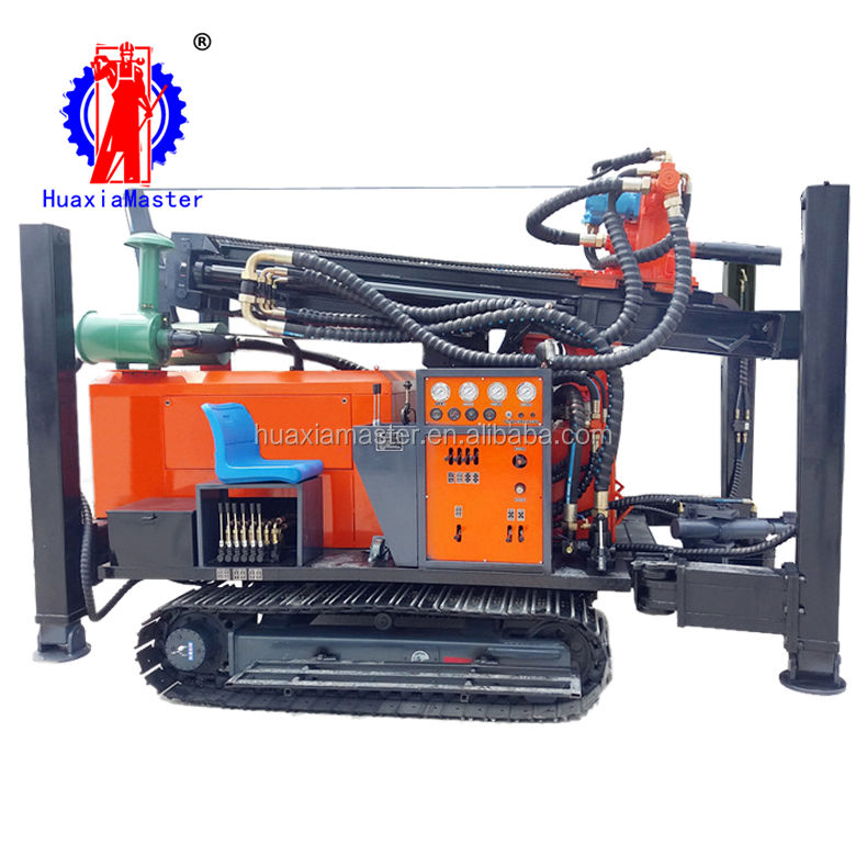 supply FY260 crawler pneumatic water well drill rig machine well digging down-hole rig equipment for sale