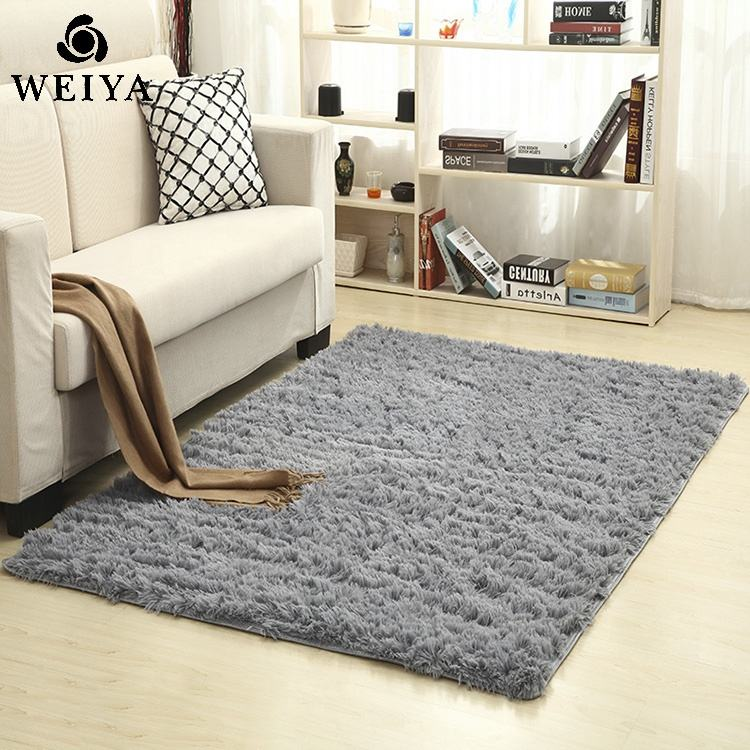 Factory direct selling soft shaggy carpet new designs