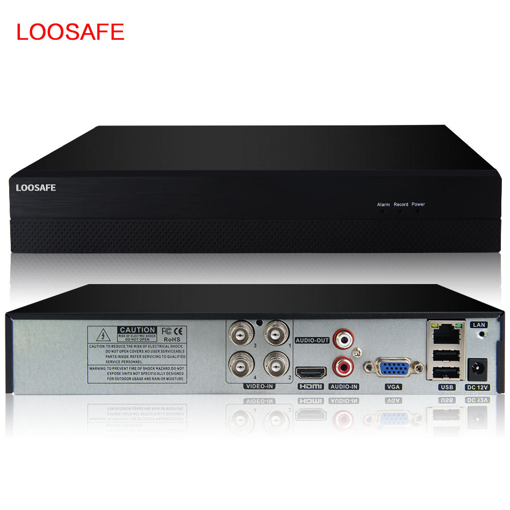 Hot sell product network NVR 4 channels h.264 network security cctv AHD DVR 4ch ip camera