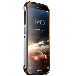DOOGEE S40 Ponsel Android 9.0, Ponsel Keras Tahan Air Quad Core RAM 3GB ROM 32GB