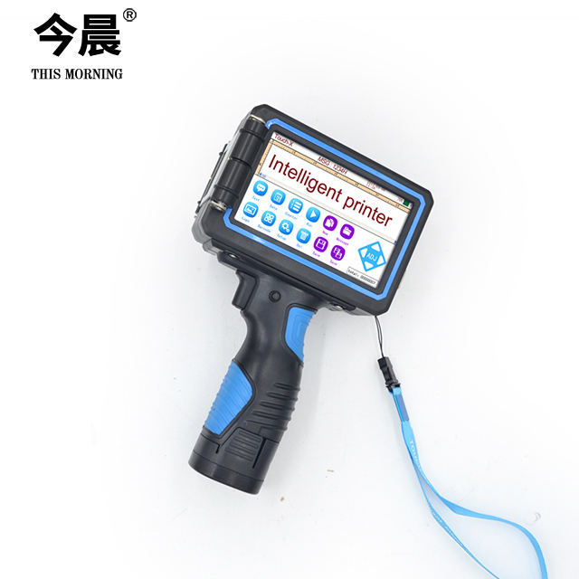 High Resolution Easy To Operate Thermal Expiry Date Touch Handheld Inkjet Printer