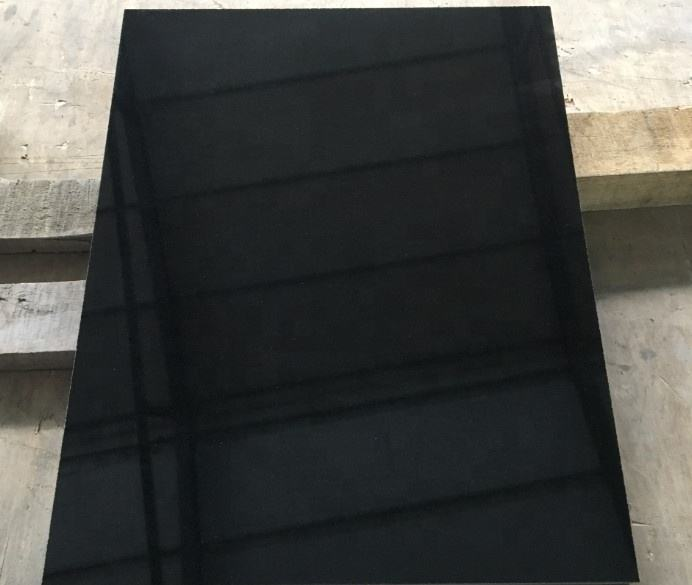 China polished Shanxi black granite stone