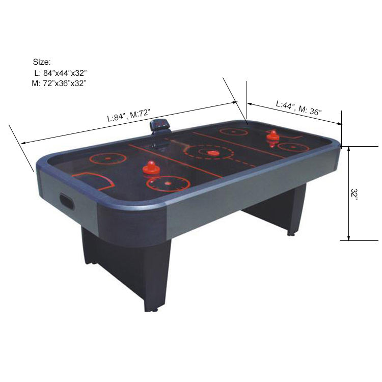 SZX 7ft Professional air hockey game table for wholesale
